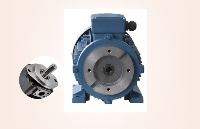 hydraulic electric motor